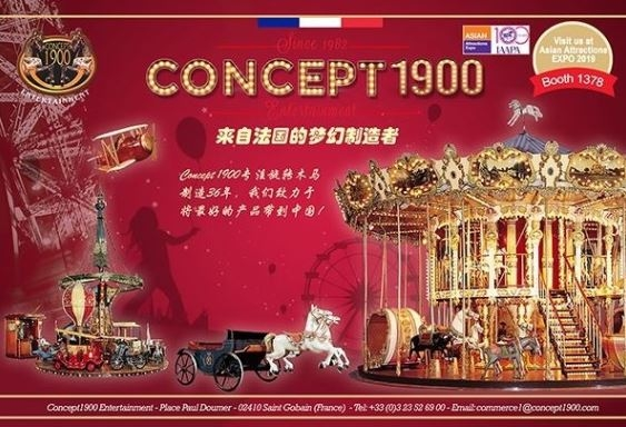 [Overseas Exhibitor] Concept 1900 Entertainment